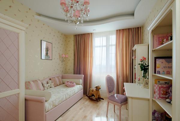 Дизайн комнат с люстрами